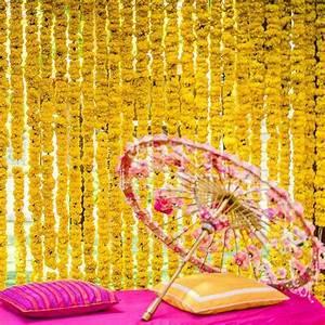 #Trending: 20 Most Vibrant Haldi Decor Ideas For Your Wedding