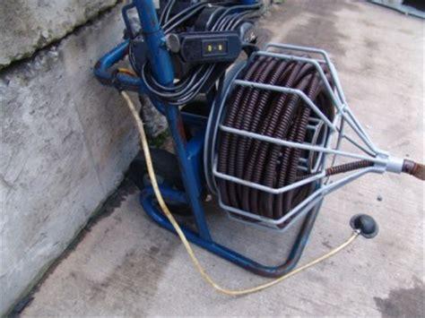 100 ft plumbing snake electric eel model r drain cleaner snake 100 3 4 inch