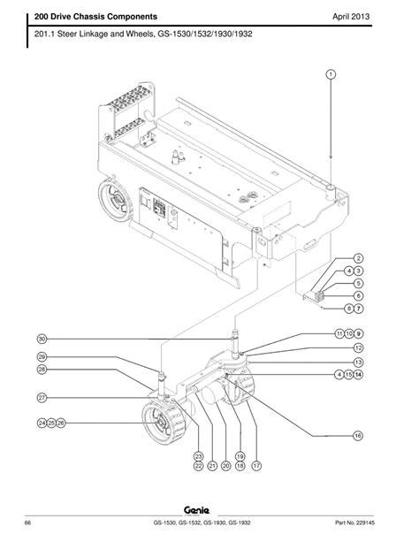 genie 1930 scissor lift wiring diagram somurich
