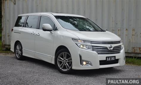 Review Nissan Elgrand by Driven Nissan Elgrand 3 5 V6 All About Comfort