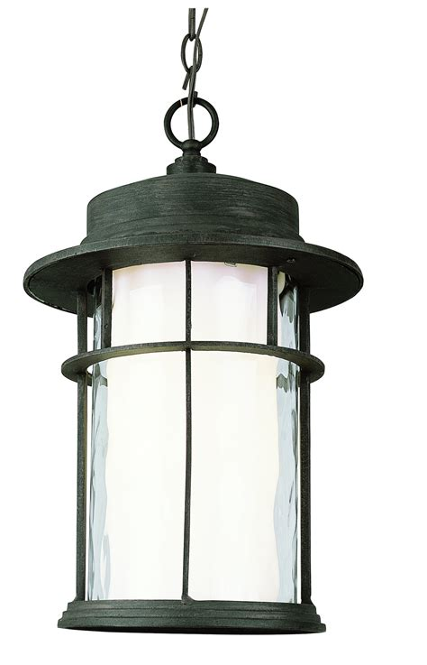 craftsman style hanging outdoor light trans globe lighting 5295 rt craftsman transitional