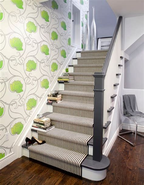 carpet for bedrooms and stairs decorate your stairway with a striped carpet