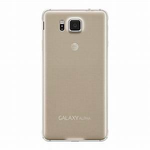 Samsung Galaxy Alpha  At U0026t   Gold Sm