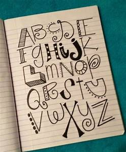 Different ways to write letters | Doddle Ideas | Pinterest ...