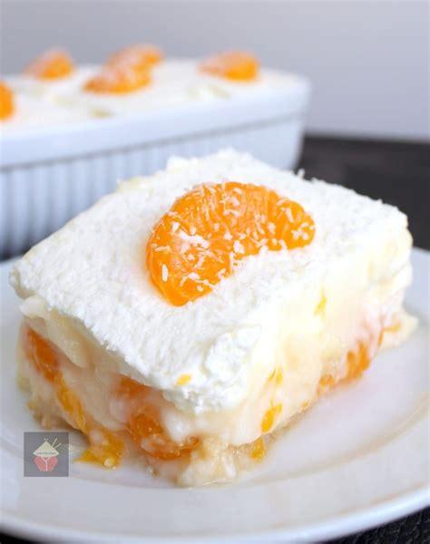 easy mandarin dessert lovefoodies