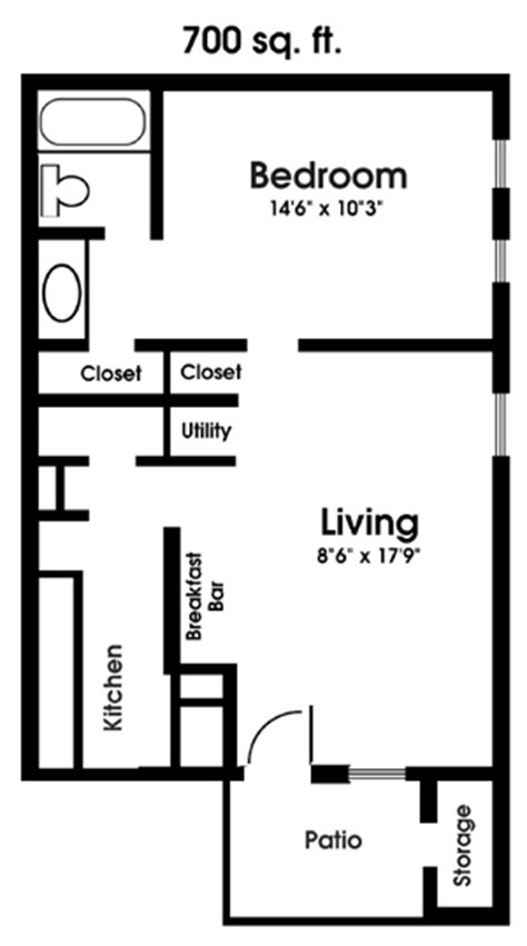 bedroom apartment floor plan    images guest house plans small apartment