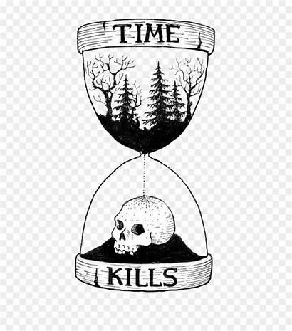 Jam Pasir Ilustrasi Waktu
