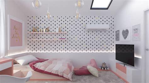 papier peint fille chambre chambre d enfants des rêves idées de design et décoration