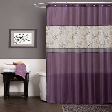 curtain hooks intended for a modern shower curtain