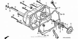 Right Crankcase Cover For 1997 Honda Xr70