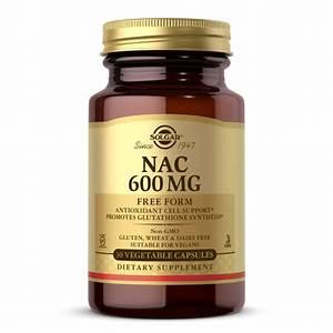 Nac 600 Mg Vegetable Capsules