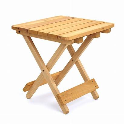 Folding Meja Lipat Kayu Wooden Side Tables