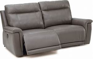 Palliser Furniture Living Room Sofa Manual Recliner 2 Over