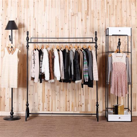 the racks boutique c iron clothing rack clothing display racks for