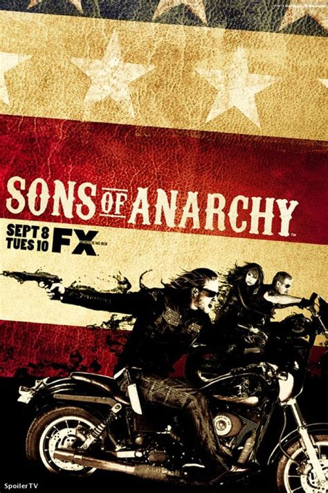 Season Two Sons of Anarchy Poster - TV Fanatic