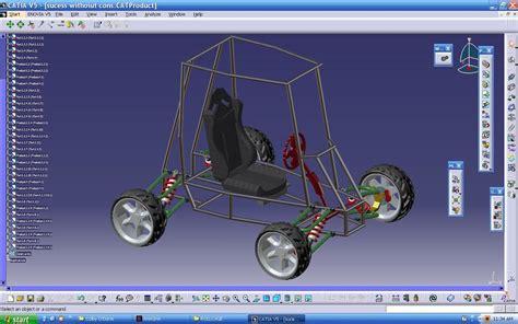 sae baja vehicle catia  design  gokula krishnan