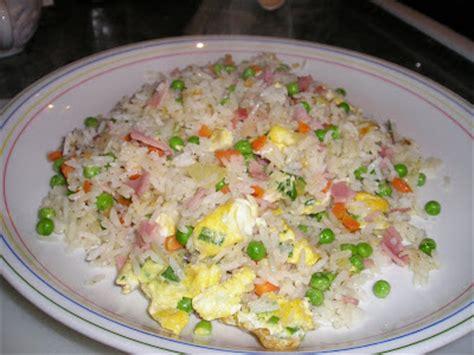 cuisiner le vrai riz frit chinois le canard du mékong riz cantonais
