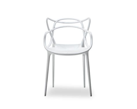 set of 2 replica philippe starck masters chair white