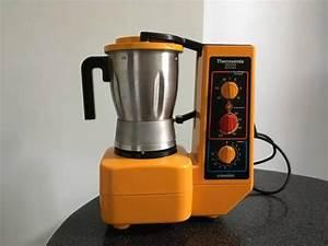 Robot De Cuisine Thermomix : robot de cuisine vintage ann es 1980 robot thermomix 3000 lectronique de marque vorwerk ~ Melissatoandfro.com Idées de Décoration