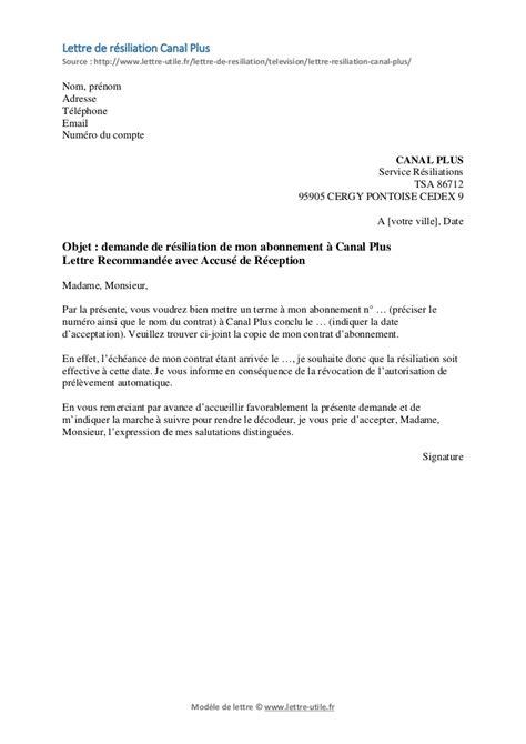 modele lettre resiliation sfr loi chatel lettre gratuite de r 233 siliation modele de lettre