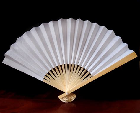 hand fans for wedding 9 quot white chinese folding paper hand fan for weddings on