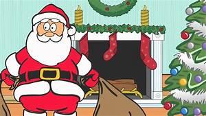 Dancing Santa Claus Cartoon - YouTube