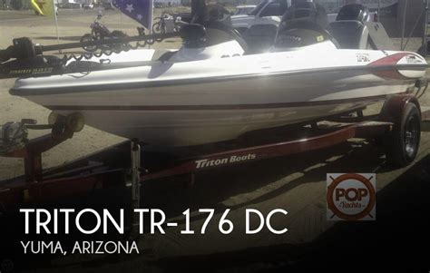 Bass Boats For Sale In Yuma Az by Triton Tr 176 Dc For Sale In Yuma Az For 16 000 Pop Yachts