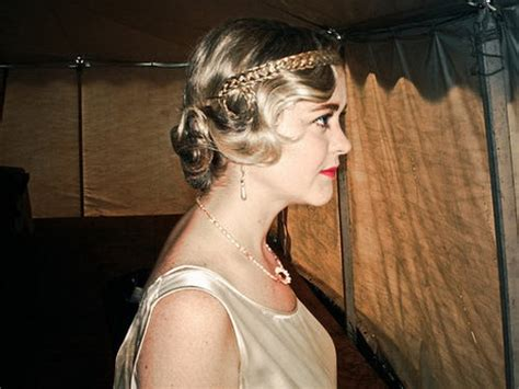 flapper hairstyles  long hair