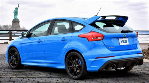 Ford Focus Rs Black Wallpaper HD