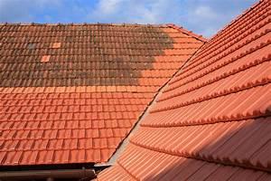 Produit Pour Nettoyer Les Tuiles nettoyage d 39 une toiture comment nettoyer son toit bati