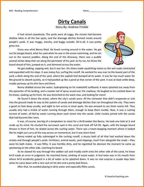 5+ 6th Grade Ela Worksheets  Western Psa
