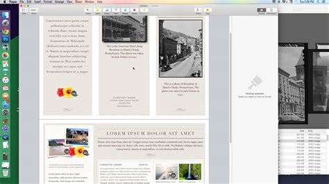 Apple Pages Brochure Templates by Free Brochure Templates Brickhost Page 148