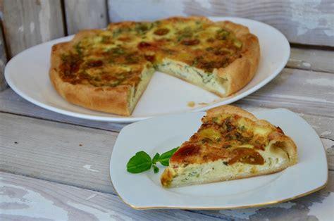 cuisiner des tomates cerises quiche au fromage tomates cerises et basilic par la p