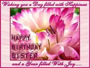 happy birthday sister greeting cards hd wishes wallpapers ...
