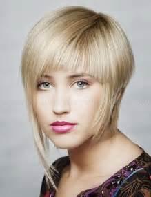 Short Asymmetrical Haircuts with Bangs