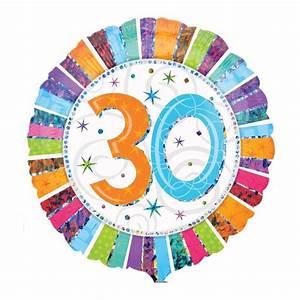 Pappteller 30 Geburtstag : helium luftballon 30 geburtstag ~ Markanthonyermac.com Haus und Dekorationen