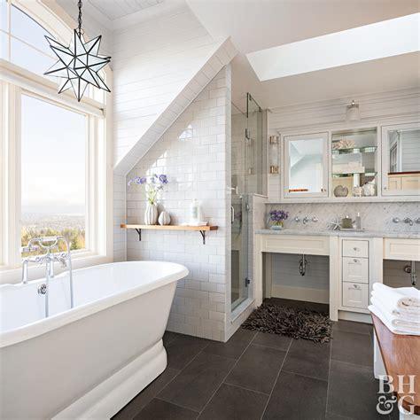 Master Bathroom Ideas by Planning A Bathroom Layout Better Homes Gardens