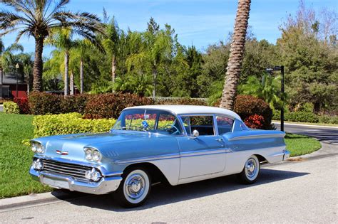 All American Classic Cars: 1958 Chevrolet Biscayne 2-Door ...