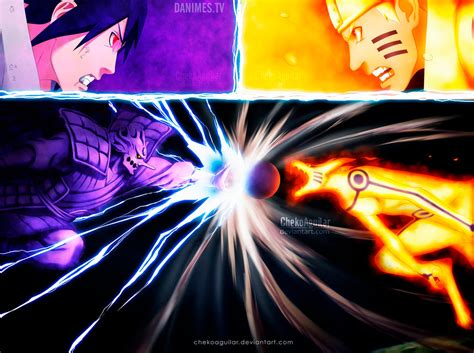 Naruto Manga 695 The Final Battle By Chekoaguilar On