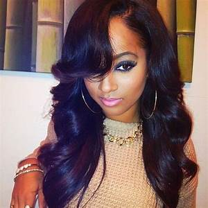 Brazilian Body Wave Hairstyles With Side Bang | www ...