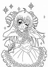 Coloring Coloriage Manga Printable Fille Anime Imprimer Dessin Kilari Kawaii Mandala Whoville Sheets Bikini Japanese Template Realistic Coloriages Colorir Mandalas sketch template