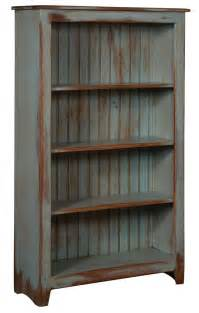 Distressed Bookcases primitive pine wood bookcase from dutchcrafters amish