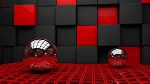 3d red wallpaper widescreen high resolution for desktop ...