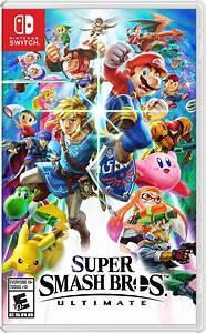 Super Smash Bros Ultimate For Nintendo Switch Nintendo
