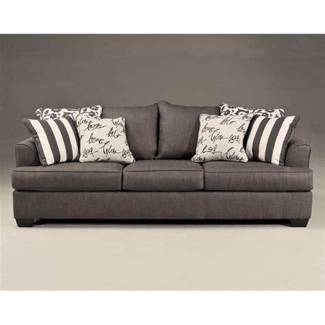 signature design by ashley furniture levon microfiber sofa