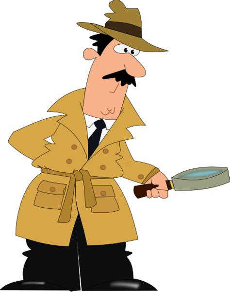 Detective Clip Detective Clip At Clker Vector Clip