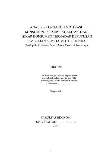 Contoh Abstrak Skripsi Ekonomi Manajemen - Contoh Two