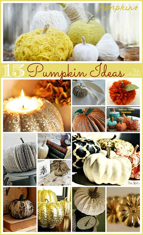 diy fall decorations ideas 15 diy pumpkin tutorials the 36th avenue