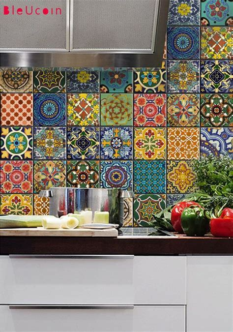 MEXICAN TALAVERA TILE DECAL O R D E R . P A C K The design