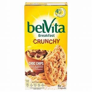 Belvita Crunchy Chocolate Chips 300G - Groceries - Tesco ...